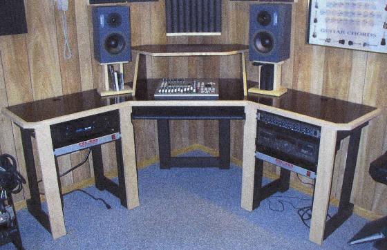80 diy workstation desk and more gearslutz pro. Black Bedroom Furniture Sets. Home Design Ideas