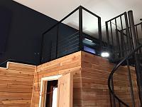 RV Garage - conversion to Recording Studio!-cable-rail-system-3.jpg