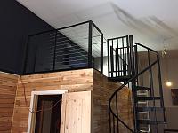 RV Garage - conversion to Recording Studio!-cable-rail-system-4.jpg