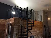 RV Garage - conversion to Recording Studio!-custom-hand-rail-3.jpg