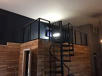 RV Garage - conversion to Recording Studio!-custom-hand-rail-6.jpg