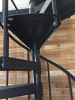RV Garage - conversion to Recording Studio!-spiral-stairs-treatment-3.jpg