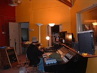 Here she is in all her glory....new studio, ain't she purty?-console-closetdoor.jpg