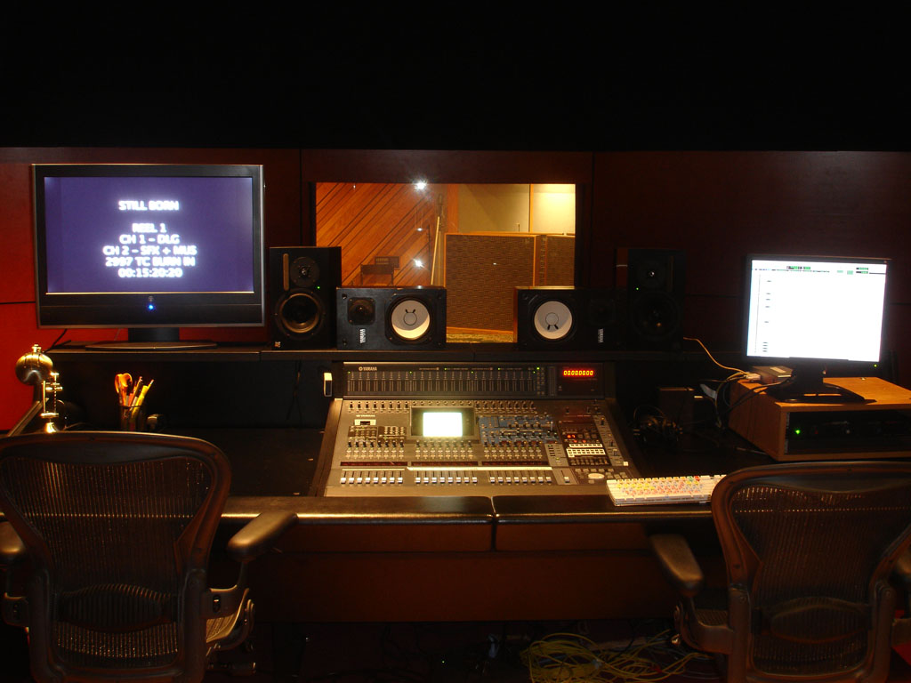 Let's see some pix of your Post Production Facilities ...