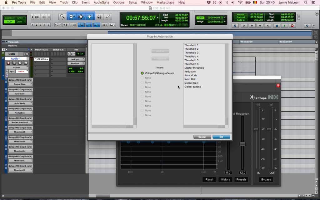 Izotope RX5 Dialogue De-noise - Gearslutz