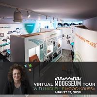 Bob Moog Foundation Announces Virtual Moogseum Tour To Celebrate Museum's One-Year Anniversary-bmf-virtual_moogseum_tour_with_michelle.jpg