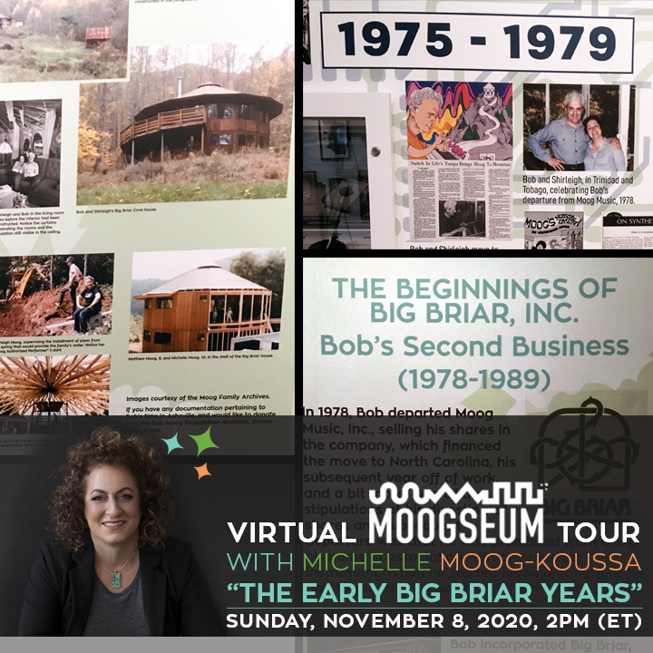 Bob Moog Foundation Announces  Virtual Moogseum Tour Focusing on Early Big Briar Years-bmf-virtual_moogseum_tour_big-briar.jpg