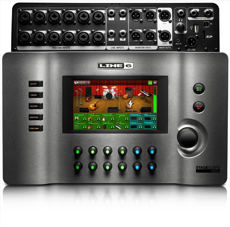 line 6 stagescape m20d digital live mixer gearslutz. Black Bedroom Furniture Sets. Home Design Ideas