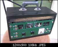 Tablebeast Modified Akai / Roberts Tube Reel Monoblock Amps-2xprewoodshure103.jpg