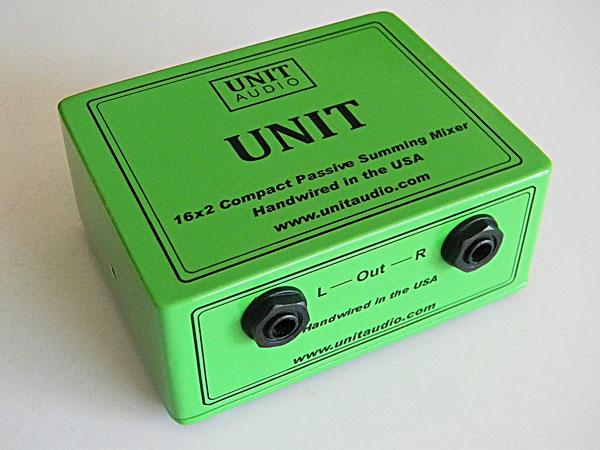 unit audio announces the new unit 16 x 2 analog summing mixer gearslutz. Black Bedroom Furniture Sets. Home Design Ideas