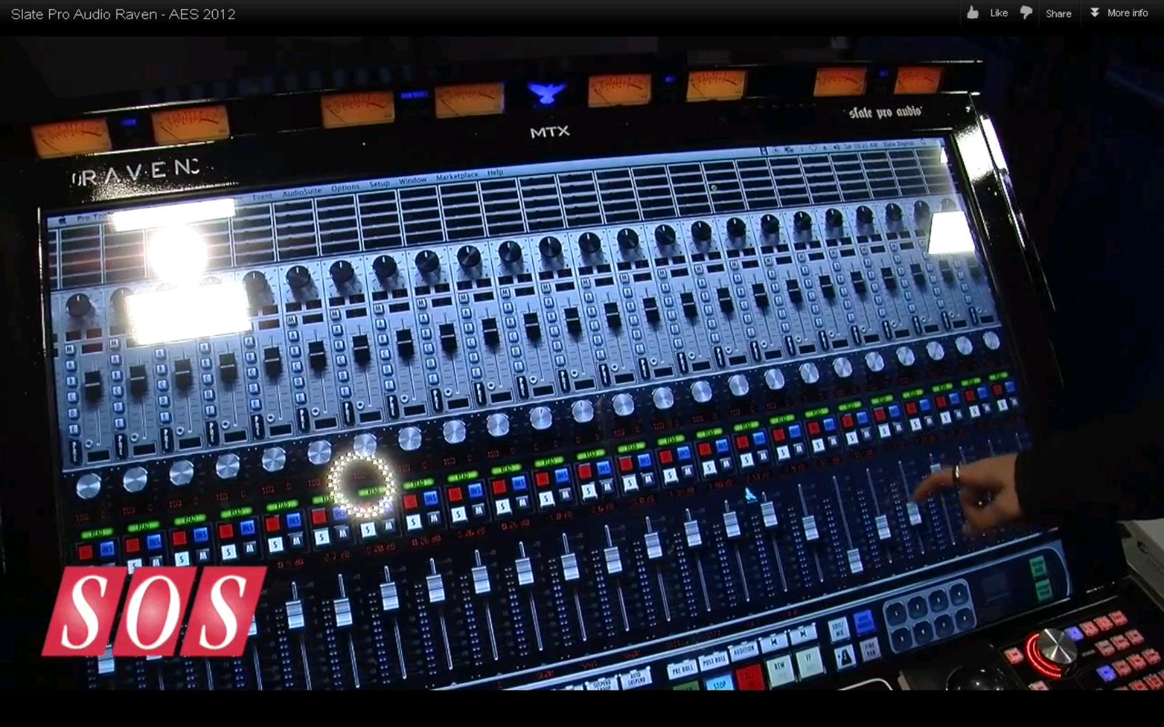 Slate Pro Audio Introduces THE RAVEN MTX Multi-Touch