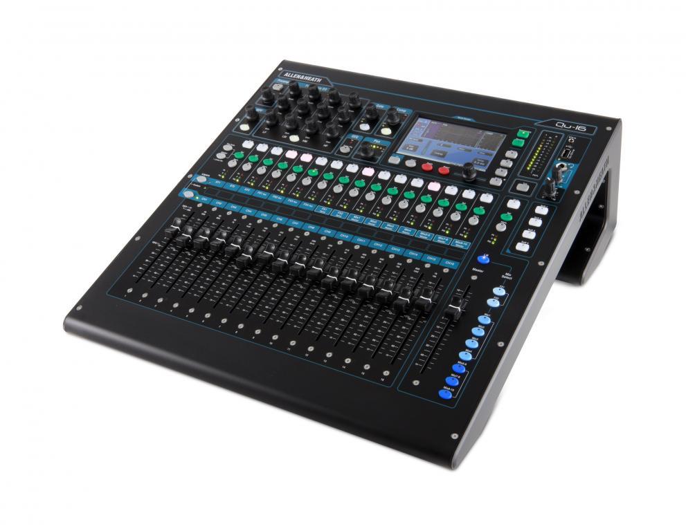 allen heath launches qu 16 compact digital mixer gearslutz pro audio community. Black Bedroom Furniture Sets. Home Design Ideas