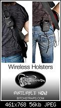 """BitchStraps Introduces the Wireless Holster for Guitarists""-wireless-holster.jpg"