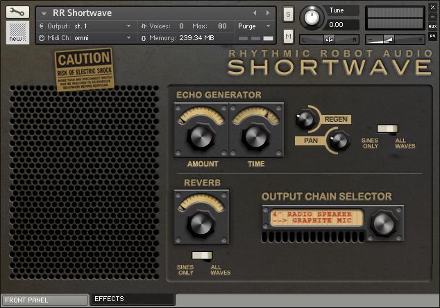 Rhythmic Robot release SHORTWAVE: radio wave synth - Gearslutz