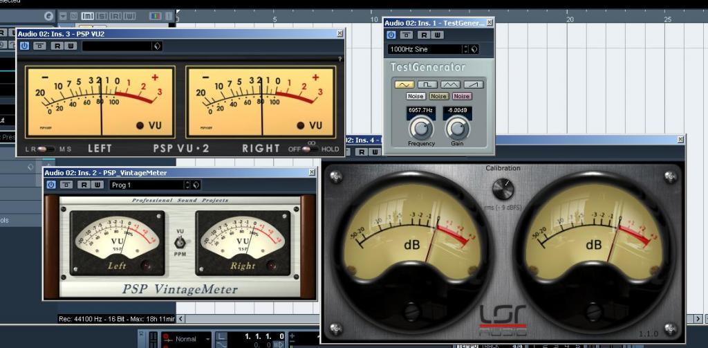 vu meter software free