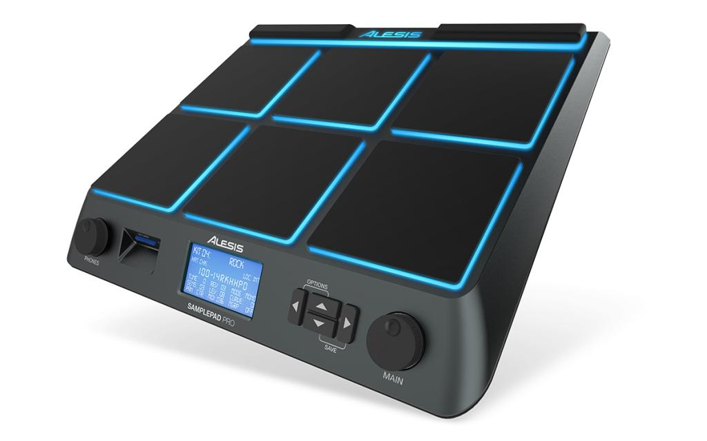 Namm 2014: Alesis - SAMPLEPAD PRO, Percussion Pad With Onboard ...