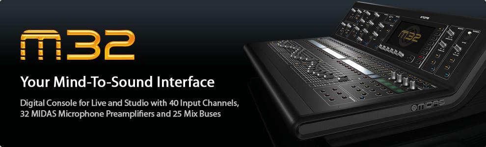 namm 2014 midas m32 gearslutz pro audio community. Black Bedroom Furniture Sets. Home Design Ideas