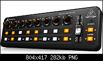 5bf1b02fdd5 NAMM 2014: Behringer X-TOUCH MINI - Ultra-Compact Universal Control Surface-