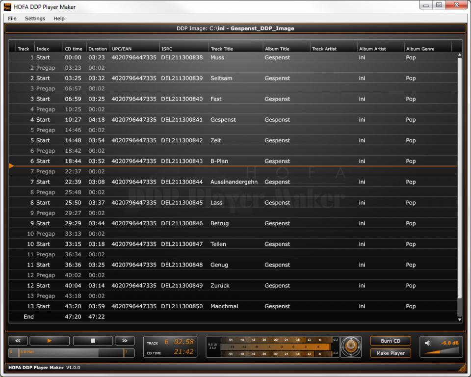 HOFA-Plugins releases HOFA DDP Player & DDP Player Maker