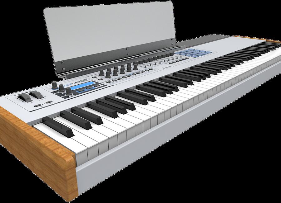 messe 2014 arturia extends keyboard controller range with 88 key keylab 88 gearslutz pro