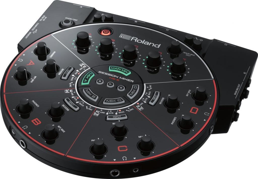 gearslutz roland announces hs 5 session mixer. Black Bedroom Furniture Sets. Home Design Ideas