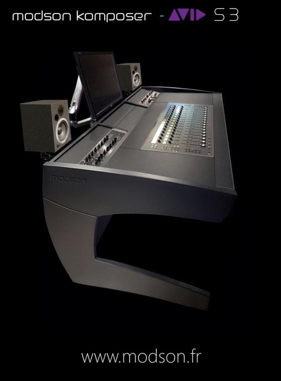 Avid s3 modson komposer desk gearslutz pro audio community for Meubles studio d enregistrement ikea