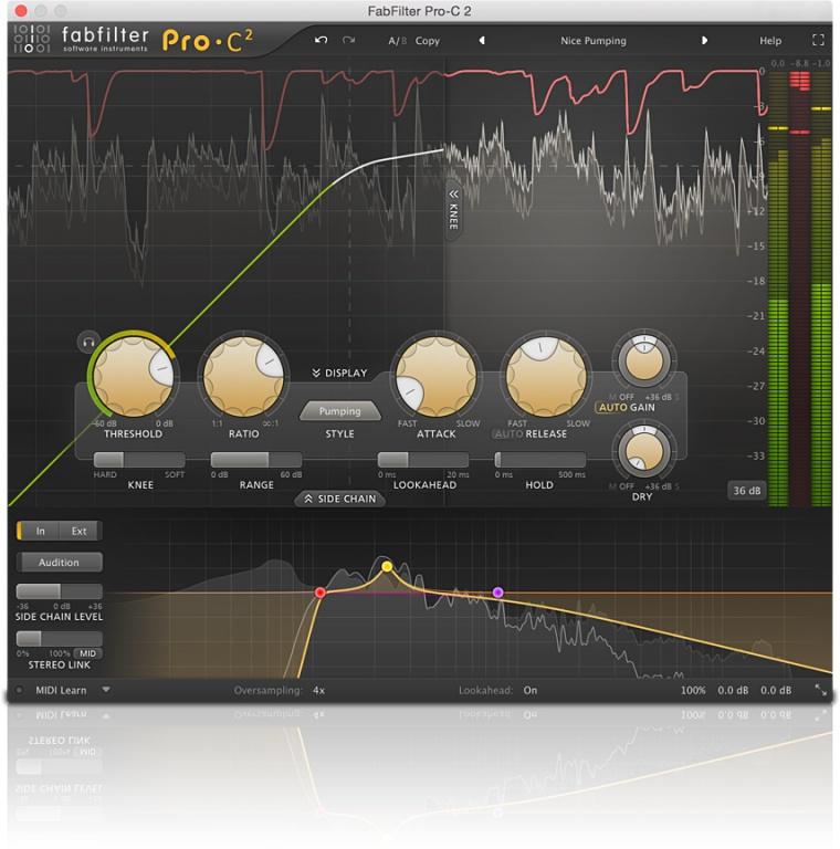 FabFilter Pro-C 2 compressor plug-in released - Gearslutz