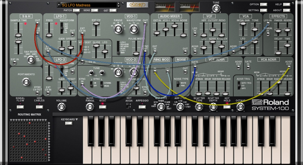 Roland Launches System 100 Plug Out Software Synthesizer