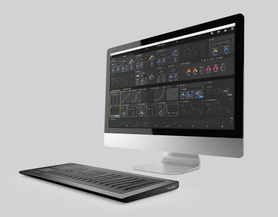 roli seaboard rise product launch london gearslutz pro audio community. Black Bedroom Furniture Sets. Home Design Ideas
