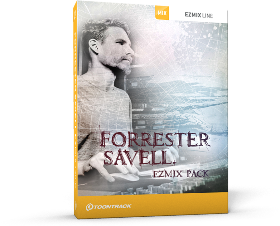 Toontrack Announces Forrester Savell Ezmix Pack