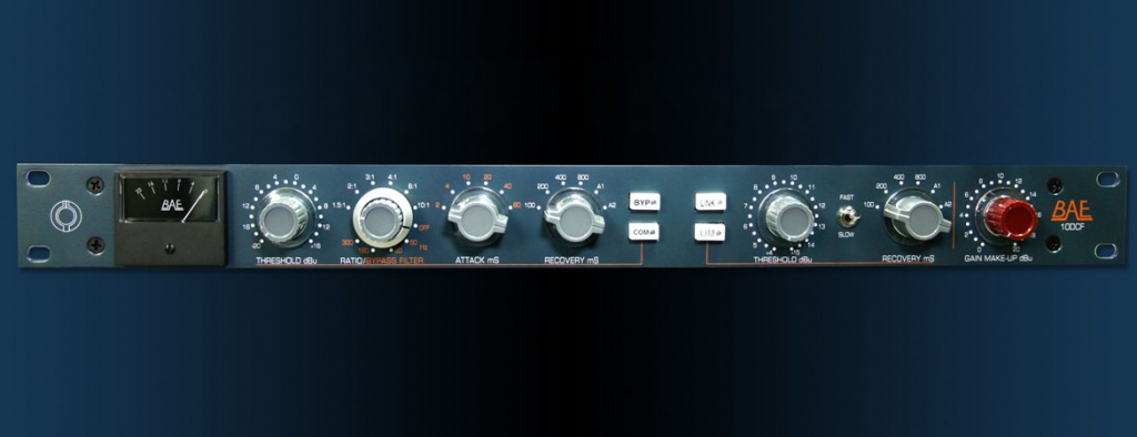 BAE Audio Announces Shipment of New 10DCF Compressor/Limiter - Gearslutz