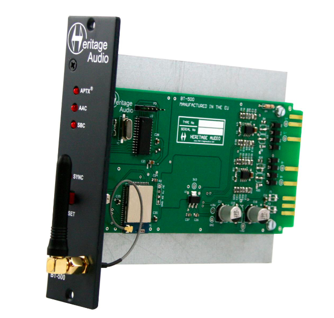 Messe 16 Heritage Audio Announces Bt 500 Streaming Module