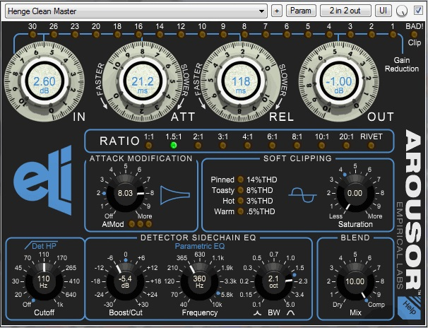 Major Compressor Plugin From Empirical Labs - AROUSOR - Page