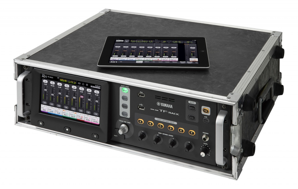 yamaha expands tf series digital mixer lineup with the tf rack gearslutz. Black Bedroom Furniture Sets. Home Design Ideas