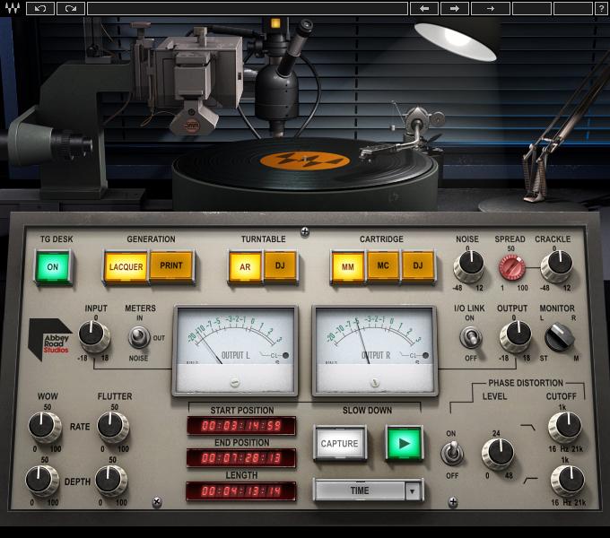 Abbey Road Vinyl Plugin  Waves
