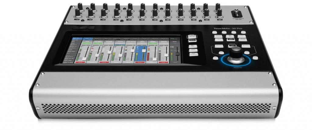 qsc premieres the new touchmix 30 pro compact digital mixer gearslutz
