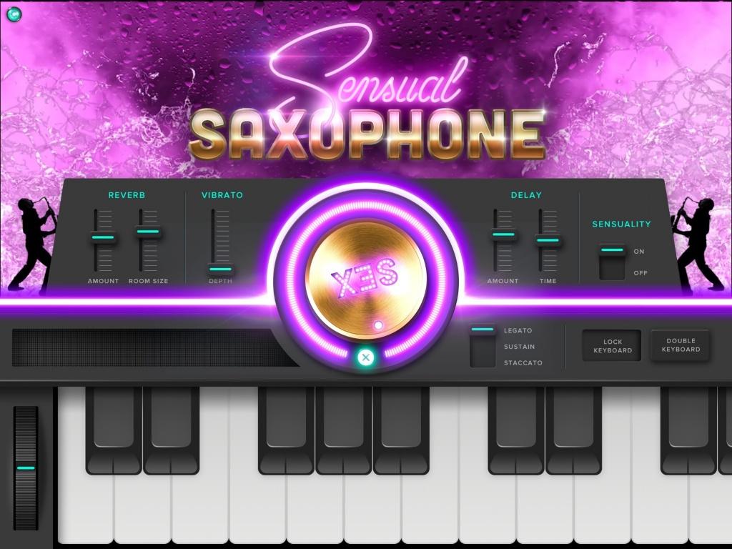 Embertone embraces iOS with Sensual Saxophone app