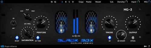 Plugin Alliance and Black Box Analog Design announce the HG