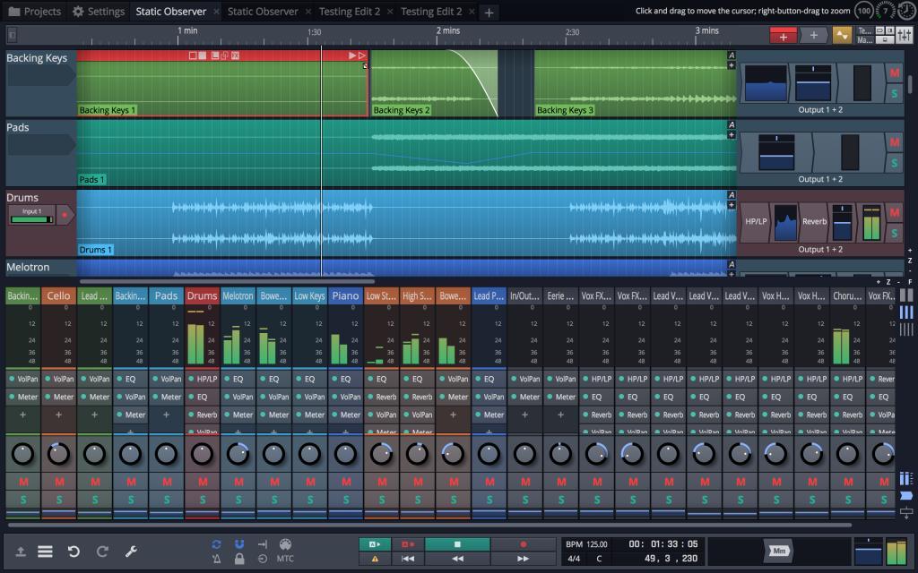 Tracktion Launches Waveform Daw Gearslutz Pro Audio
