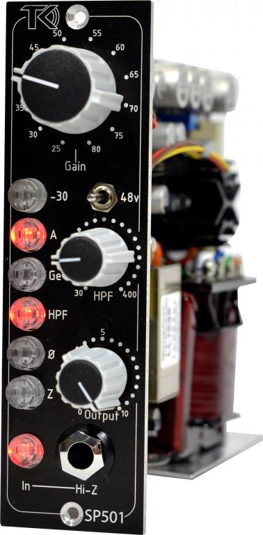 Tk Audio Unveils Sp501 500 Series Class A Preamp Now