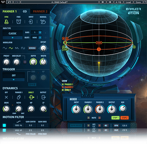 Waves Audio Now Shipping the Brauer Motion Plugin - Gearslutz