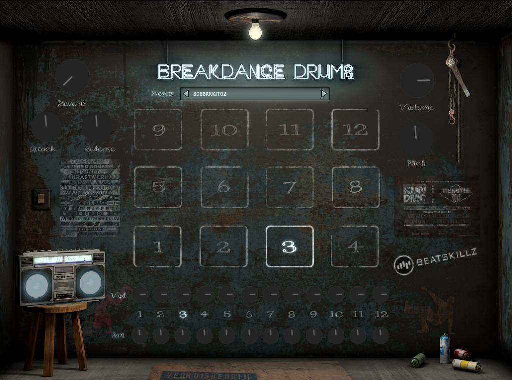 Beatskillz releases BreakDance Drums Plugin