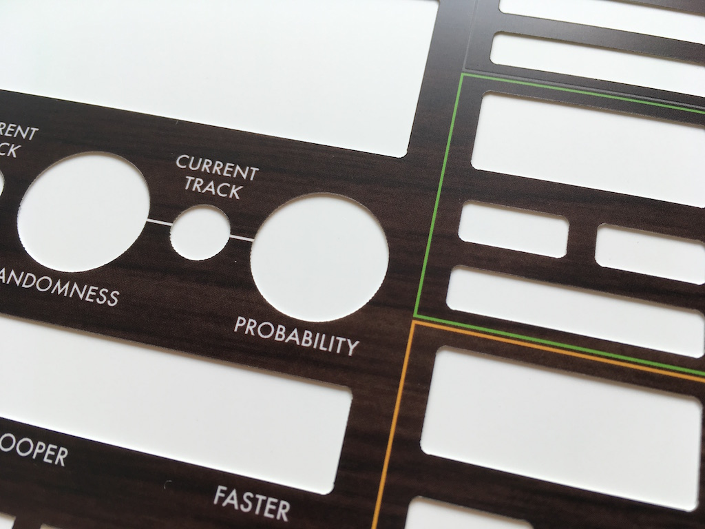 für Arturia Beatstep Pro Firmware 2.0 Overlay Full Size, black