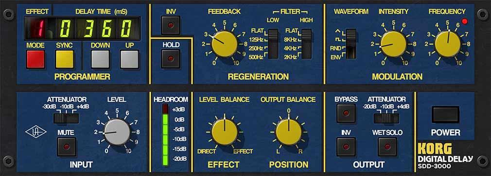 universal audio plugins