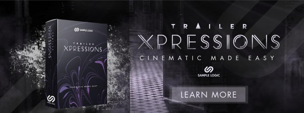 Sample Logic releases TRAILER XPRESSIONS - CINEMATIC MADE EASY