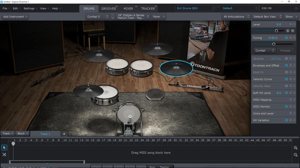 superior drummer 3 metal presets
