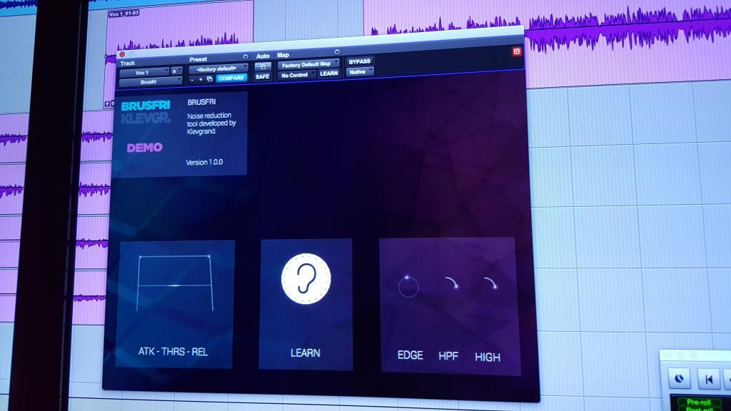 Klevgränd Produkter releases Brusfri - Noise Reducer - Page