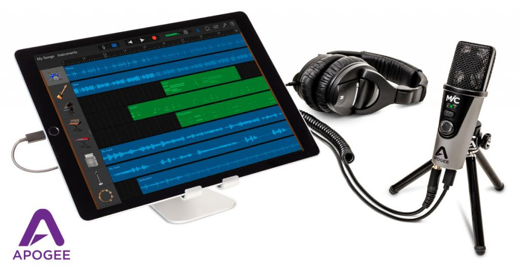 Apogee Announces MiC+ professional quality USB microphone