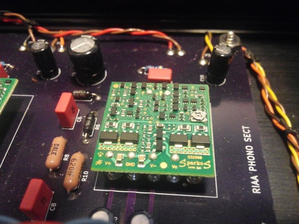 Sparkos Labs Introduces New Discrete Op Amp In Api Footprint Gearslutz Opamps Part I Open Music Ss2590 Custom Phonostage