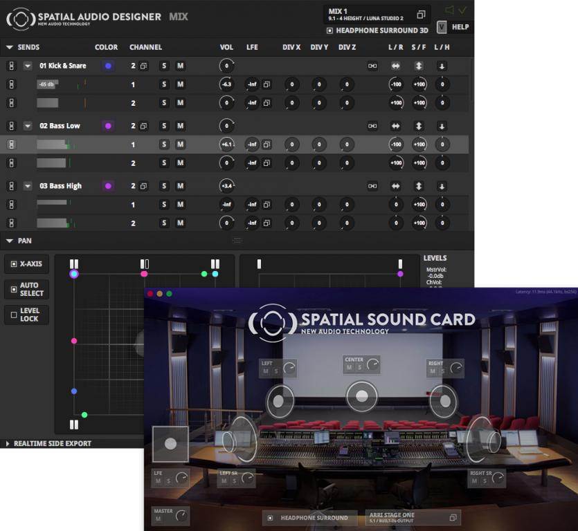 New Audio Technology announces new Spatial Audio Designer and